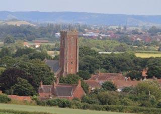 The Church of St Mary – the parish church of Cannington, Somerset, England