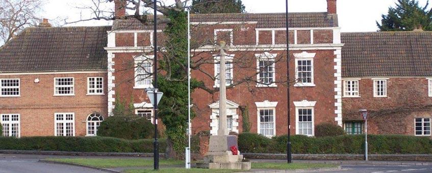 Cannington House and War Memorial